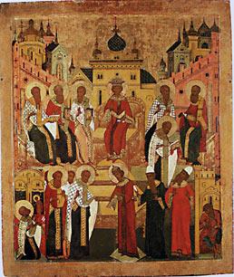 Неделя памяти святых отцов Первого Вселенского Собора