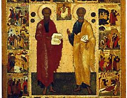 день памяти святых первоверховных апостолов Петра и Павла