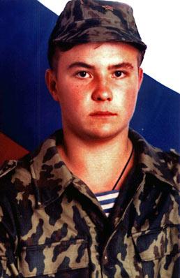 Воин-мученик Евгений Родионов