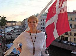 Рикке Хелмс, директор Датского института культуры в Санкт-Петербурге