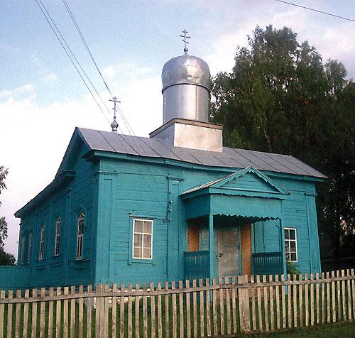 храм Рождества Иоанна Предтечи в селе Албай Мамадышского района