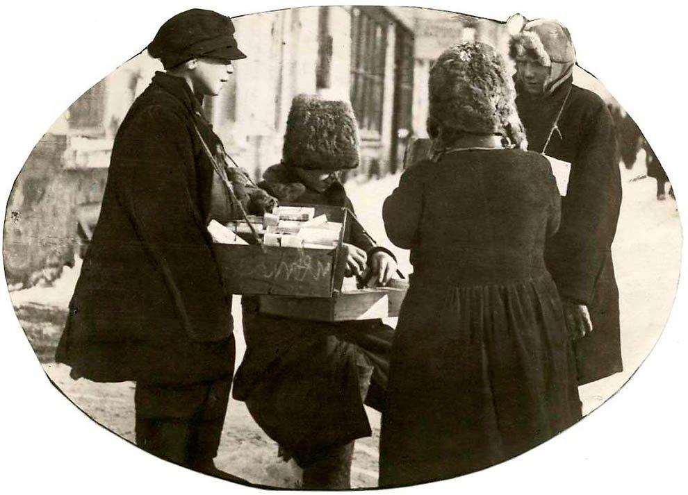 Уличные торговцы