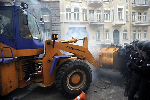 Победа Света над тьмой на Евромайдане.