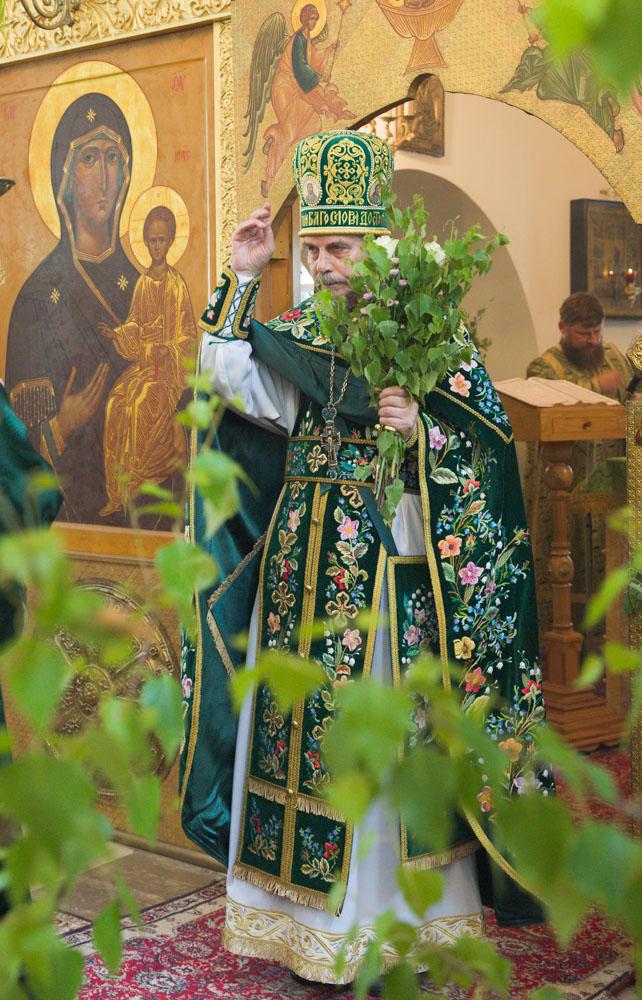 Праздник Святой Троицы в храме Свт. Николая в Пыжах