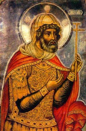 память Лонгина сотника, иже при Кресте Господни