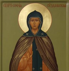 Слово в день памяти преподобной Софии Суздальской