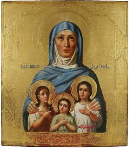 Слово в день памяти мучениц Веры, Надежды, Любови и матери их Софии